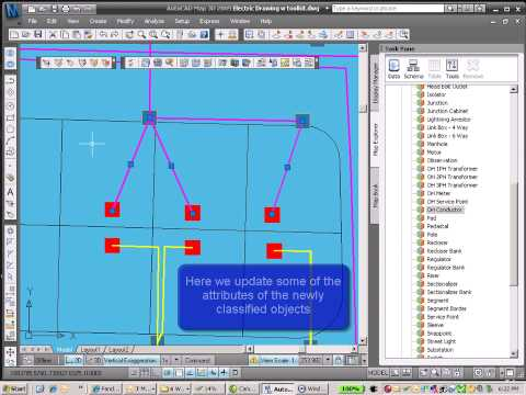 Use AutoCAD Map 3D with the utility toolkit saves time