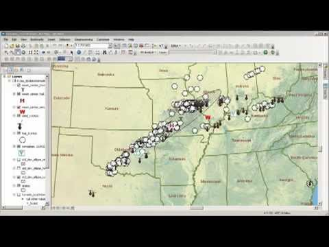 Stormy Weather: Examining 1 Day of Severe Storms with GIS, Part 2