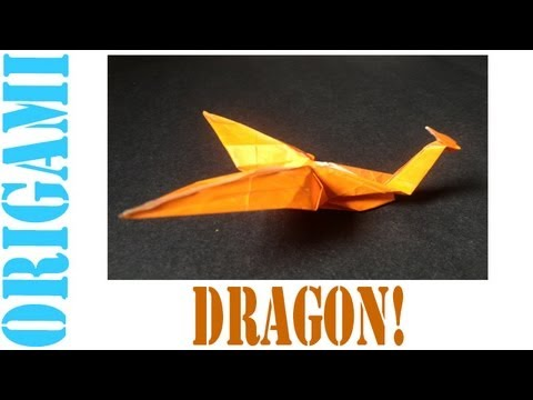 Origami Daily - 005: Water Dragon (by Suhas) - TCGames [HD]