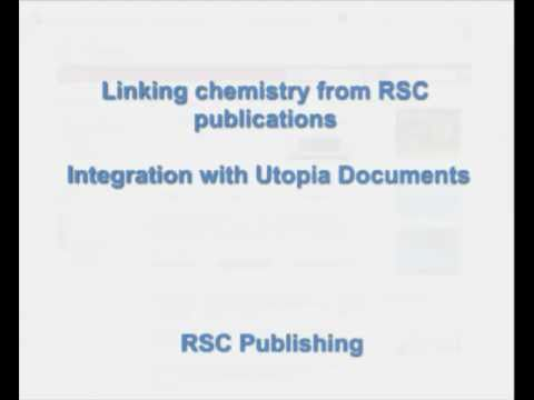 RSC enhanced publications and Utopia Documents