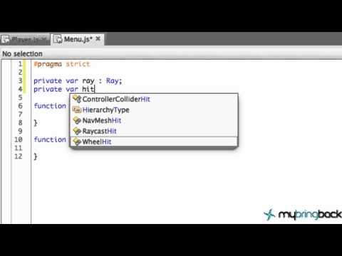Unity 3d Tutorial 1.7 - Simple Menu Script