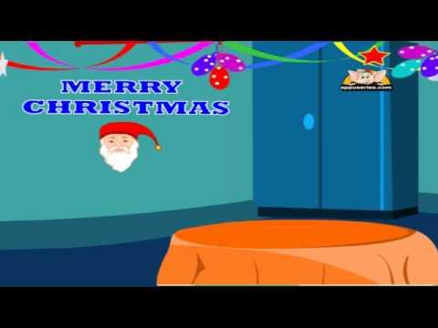 On Christmas Day with Lyrics - Nursery Rhyme