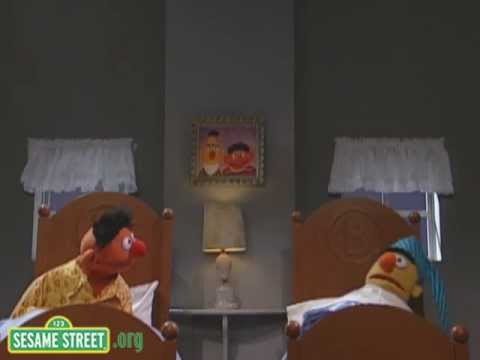 Sesame Street: Ernie Counts Backwards to Get to Sleep