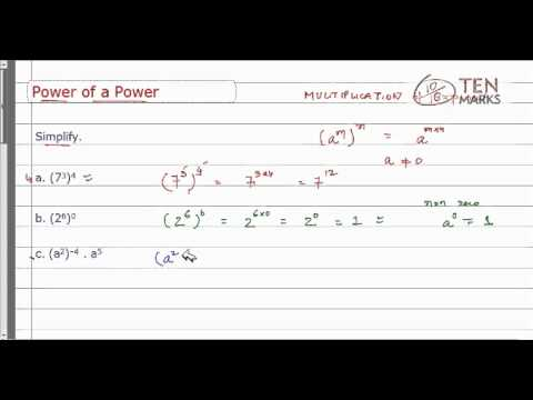 Power of a Power Property