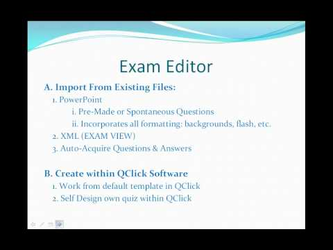 QClick Features Functions Overview