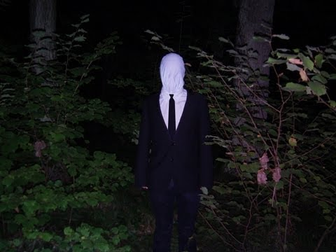 SLENDER MAN IN REAL LIFE