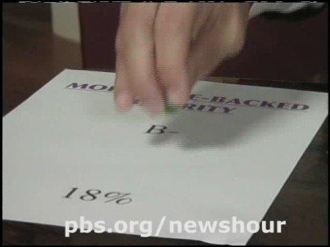 THE NEWSHOUR WITH JIM LEHRER   Paul Solman's Subprime Primer Pt.1   PBS