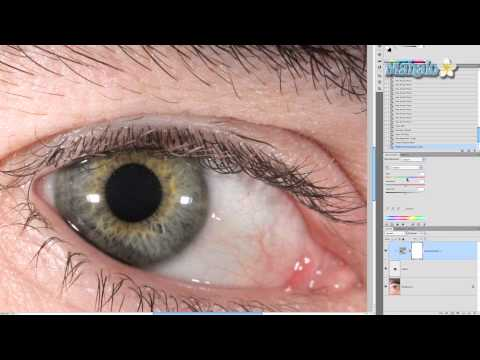 Photoshop Tutorial - Eye Special Effects