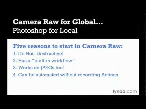 Using the Camera Raw editor | lynda.com overview