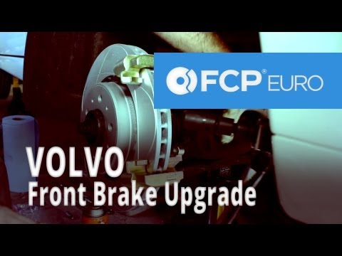 Volvo Brake Upgrade (850 Front Akebono Pads, ATE 302 Rotors) FCP Euro