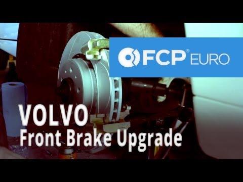 Volvo Brake Upgrade (850 Front Akebono Pads, ATE 302 Rotors) FCP Euro