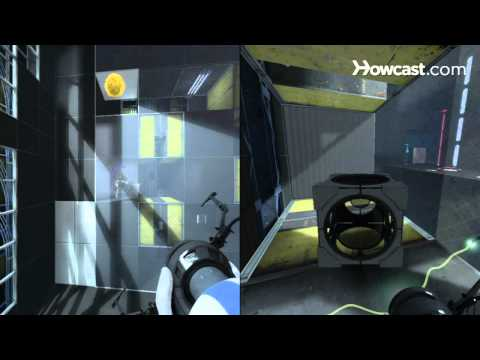 Portal 2 Co-op Walkthrough / Course 1 - Part 4 - Room 04/06