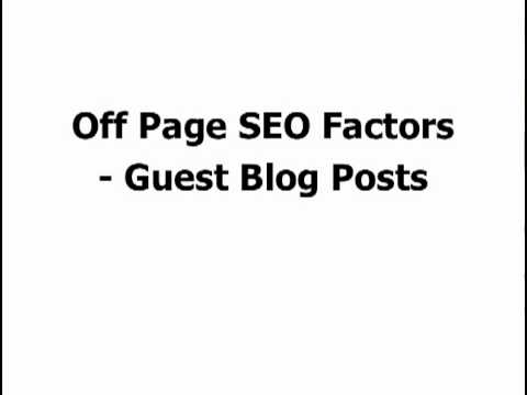 SEO For Blogs Part 7 - Some Final Thoughts On How To Drive Traffic To Your Blog Using SEO