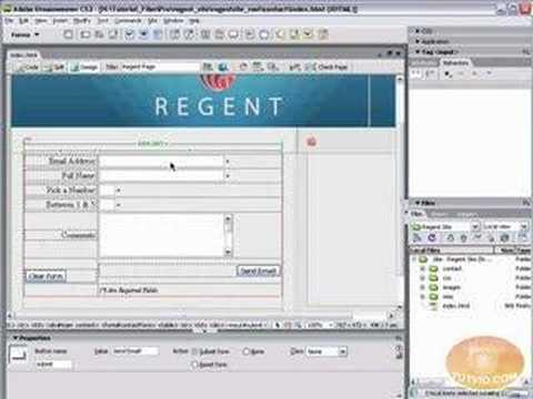 Validate Forms Using Dreamweaver!