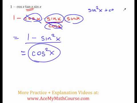 Trig Identity - Practice Question #3