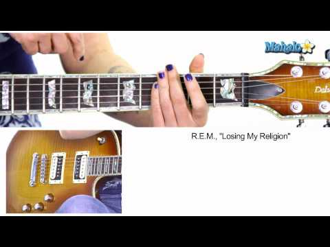 "Song of the Day - ""Losing My Religion"" by R.E.M. on Guitar"