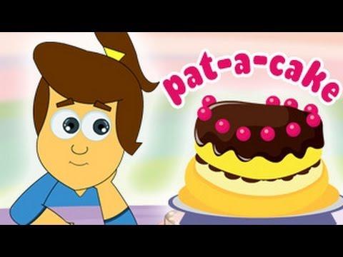 Popular Nursery Rhymes from HooplaKidz - Pat A Cake Nursery Rhyme