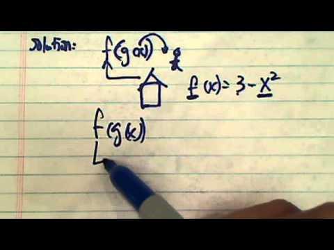 Solve f(x)=3-x^2 g(x)=x^3 + 1