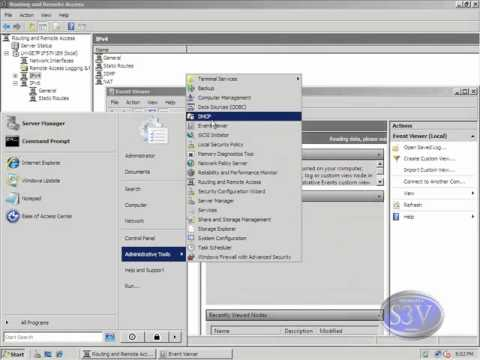 Windows Server 2008 - Instalacion de RRAS