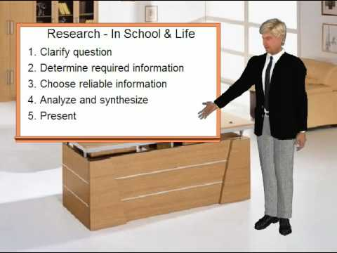 The Research Process: Getting Answers in School and in Life