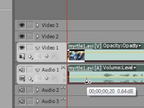 Premiere Pro Tutorial - 5 - Audio Basic