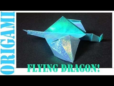 Origami Daily - 423: Flying Dragon - TCGames [HD]