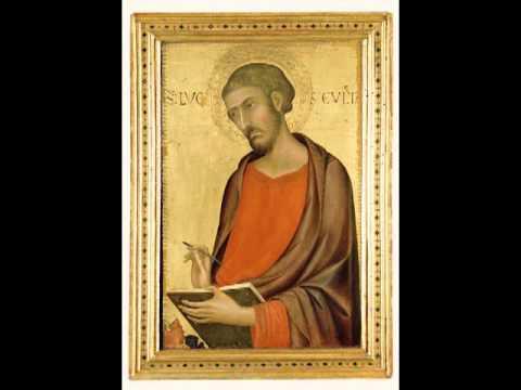 St. Luke, Simone Martini