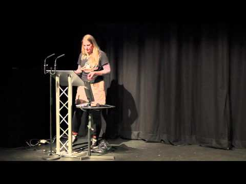TEDxSheffield 2012 - Erica Packington - Roller derby saved my soul! O.....RLY?