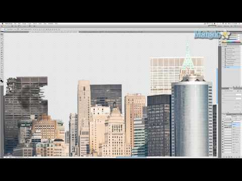 Photoshop Tutorial - Destroy City - Isolate Image