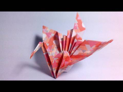 Origami Kotobukizuru - Congratulations crane
