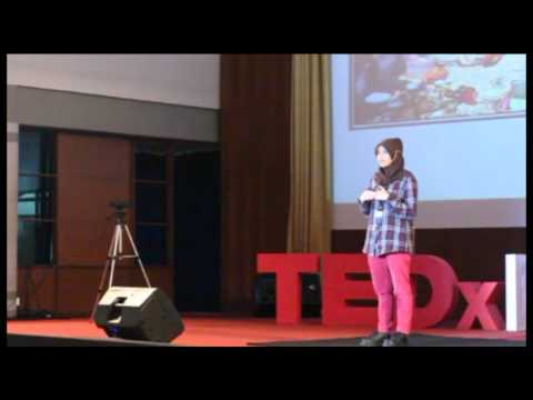 Power of Dream, Creativity, and Love to Share: Aghnie Hasya Rif at TEDxITT