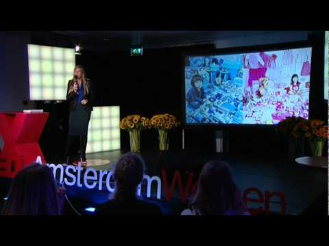 TEDxAmsterdamWomen 2011 - Anne van der Zwaag -  True blue: About colour and meaning