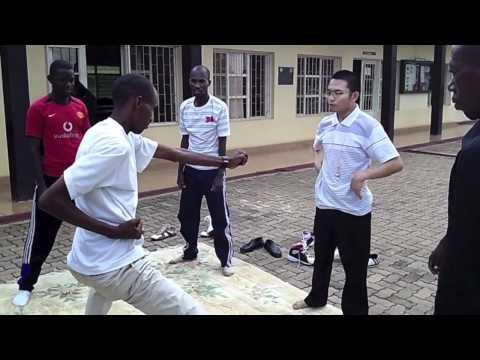 The World: Kung Fu lessons in Kagali, Rwanda