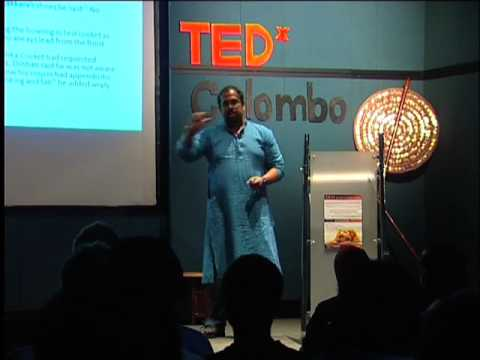 TEDxColombo - Andi Schubert - Living By the Sword: Responding to Language & Class in SL'.