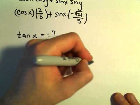 Sum and Difference Identities for Sine and Cosine, More Examples #3