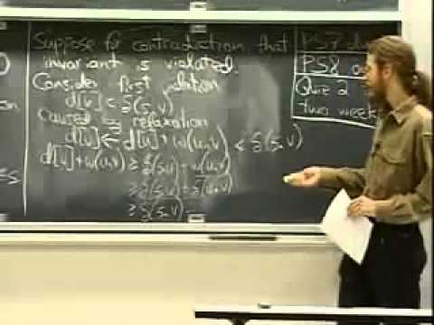 Saylor CS303: Introduction to Algorithms Lecture 17