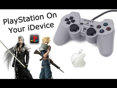 PlayStation Games On iPhone 4S, 4, 3GS, iPod Touch 4, & iPad 3, 2 (2012)