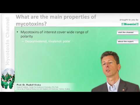 What are the main properties of mycotoxins?