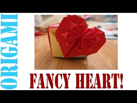 Origami Daily - 022: Valentines Day Fancy Heart (Money Origami) - TCGames [HD]
