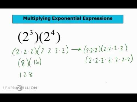 Simplify exponential multiplication expressions - 8.EE.1
