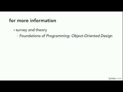Object-oriented programming tutorial: What you should know | lynda.com
