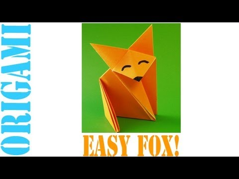 Origami Daily - 001: Fox - TCGames [HD]!