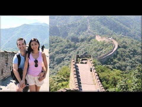 Part 2: GREAT WALL OF CHINA! Mutianyu Toboggan! (AprilAthena7)