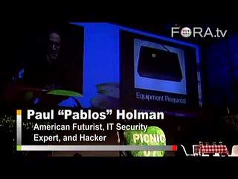 On Hacking, and How to Hack a Hotel Room - Pablos Holman
