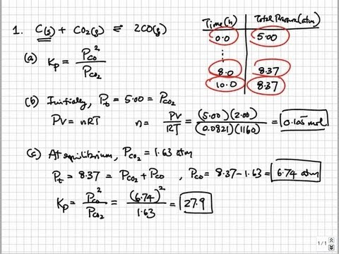 Solutions to 2008 AP Chemistry Exam Free Response Questions | College & AP Chemistry Solutions 13