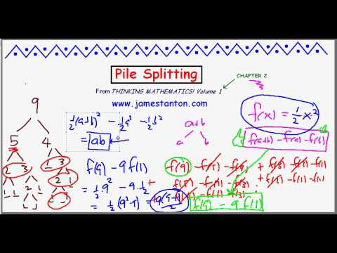 Pile Splitting Puzzle (TANTON Mathematics)