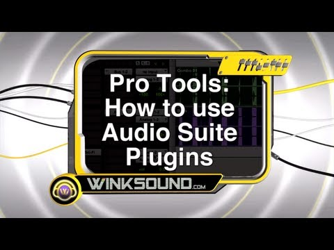 Pro Tools: How To Use Audio Suite Plugins
