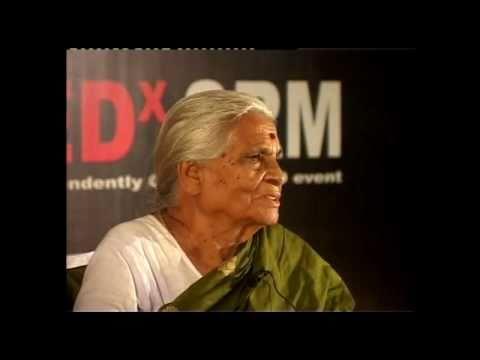 TEDxSRM - Krishnammal Jagannathan - Experiences Sharing - Working with Underprivileged Dalit Women