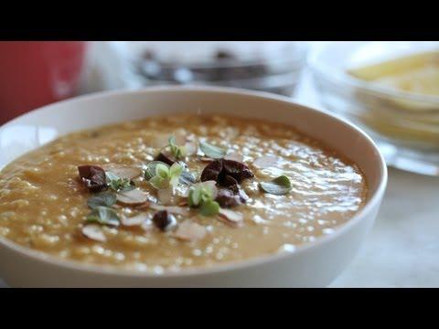 Red Lentil & Rice Soup Vegan Recipe (How To Make One Pot Vegetarian Soup)    KIN EATS