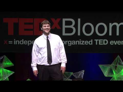 "TEDxBloomington -- Corey Jefferson -- ""Sound and Motion and Tiger/Martian/Businessperson"""